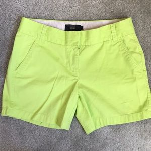 """J.Crew 5"""" Chino shorts"""